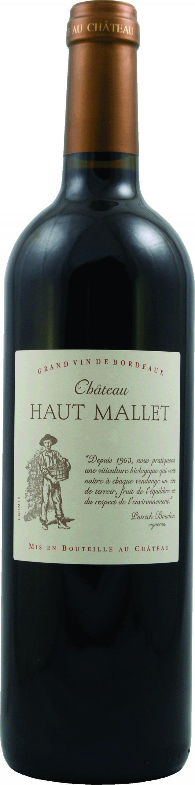 AOP BORDEAUX SUPÉRIEUR ROUGE (75CL) CHÂTEAU HAUT MALLET