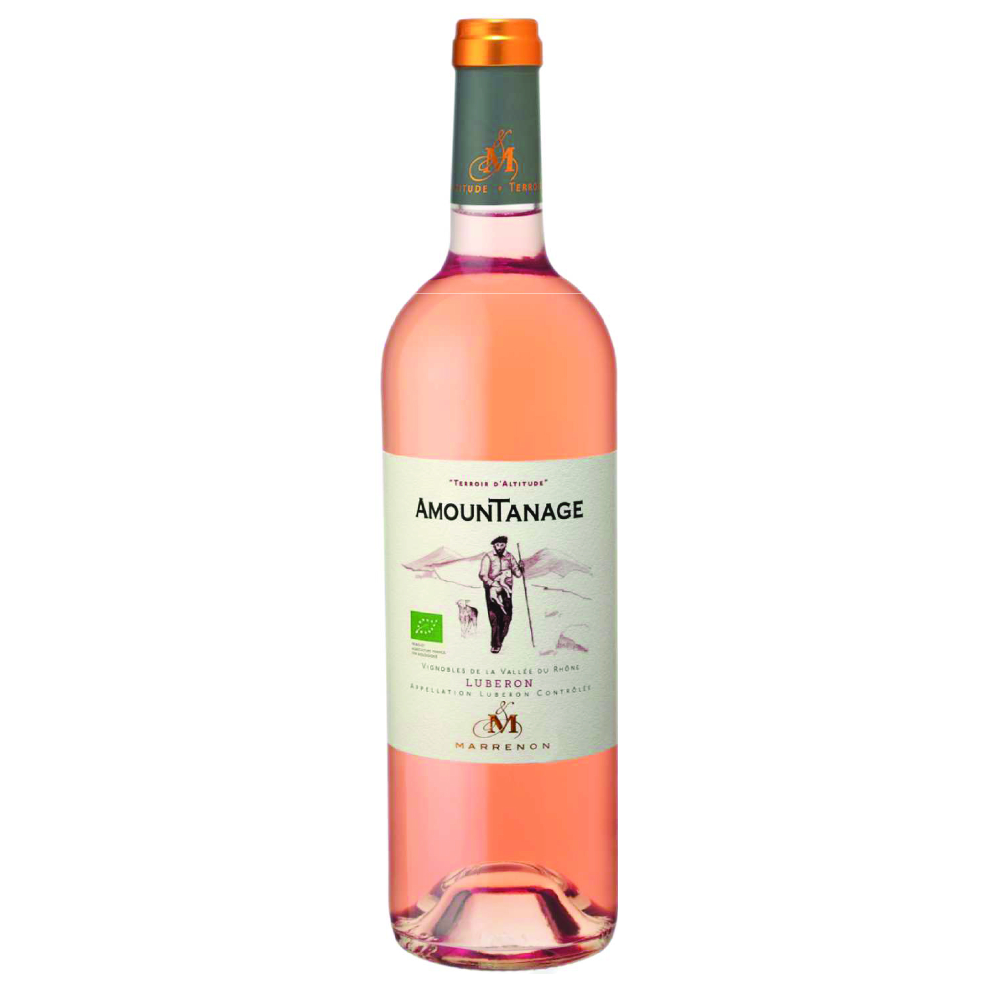"AOC LUBERON ROSE ""AMOUNTANAGE"" (75CL) MARRENON"