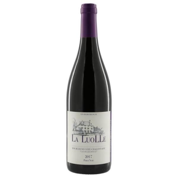 """AOC BOURGOGNE CÔTE CHALONNAISE ROUGE """"COULÉE DOUCE"""" (75CL) DOMAINE DE LA LUOLLE"""